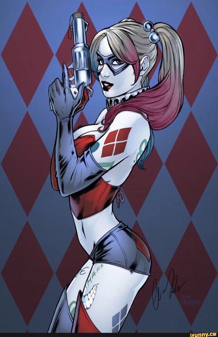 Harley Quinn by by Elias Chatzoudis & Brian Skipper