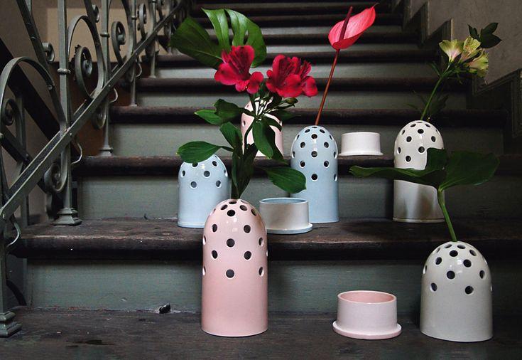 Fly-Eye-Vase by Kasia Zareba