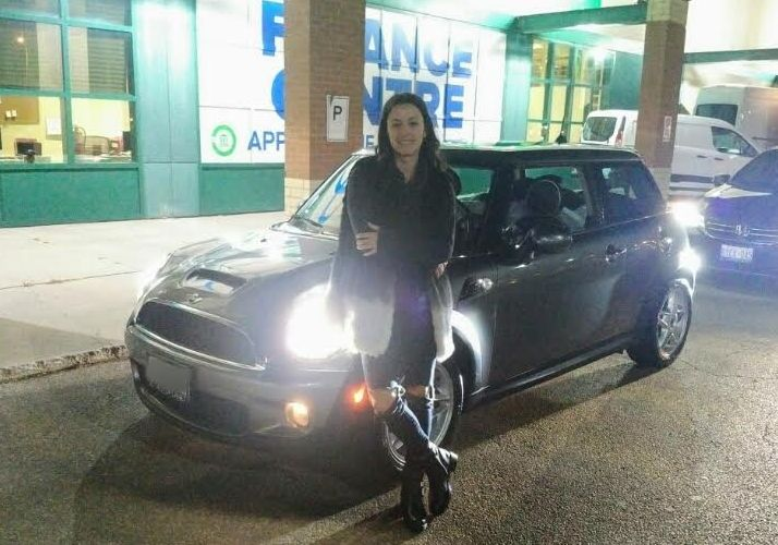 Congratulations to Manning with her purchase of a 2008 Mini Cooper S @autopdirect! . #autopdirect #autoplanetdirect #usedcars #happy #performanceautogroup #Brampton #mini #cooper #canada #ontario #fall2016 #autoplanet