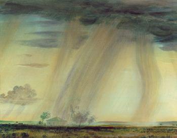 Peter Hurd: New Mexico Rain