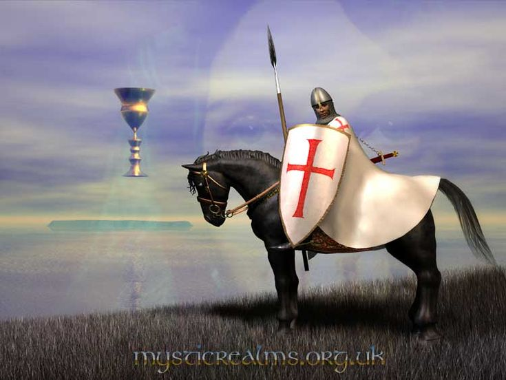 The Knights Templar, from Lundy, Isle of Avalon by Mystic Realms