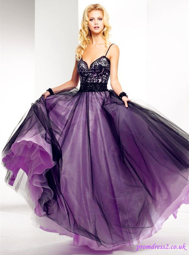 Strap A-line Prom Dress