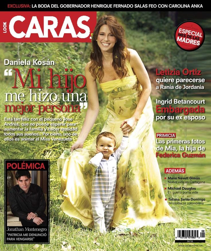 CARAS_Ed 407. Daniela Kosán. May 2011Cara 407, Caras 407, Cara Portadas