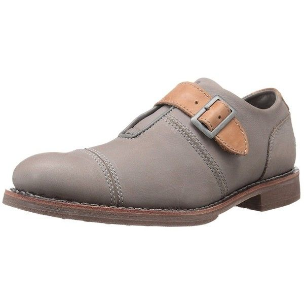 Caterpillar Men's Halsey Oxford (76 AUD) ❤ liked on Polyvore featuring men's fashion, men's shoes, men's oxfords, grey, shoes, mens grey shoes, caterpillar mens shoes, mens oxford shoes, mens grey oxford shoes and mens gray oxford shoes