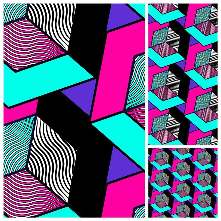 Pattern Madness on Behance