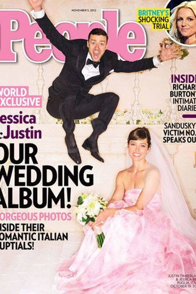 EN IMAGES. Les plus belles robes de mariée de stars - L'Express