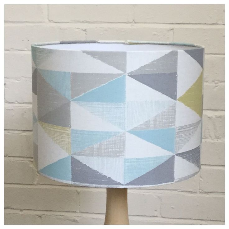 "Retro Style Geometric NEXT Wallpaper  30cm / 12"" Lampshade Ceiling Lightshade"