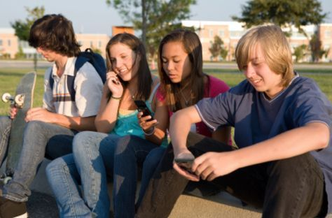 2000's: Teenagers in the 2000's begin to use more mobilized cell- phones, such as flip phones.