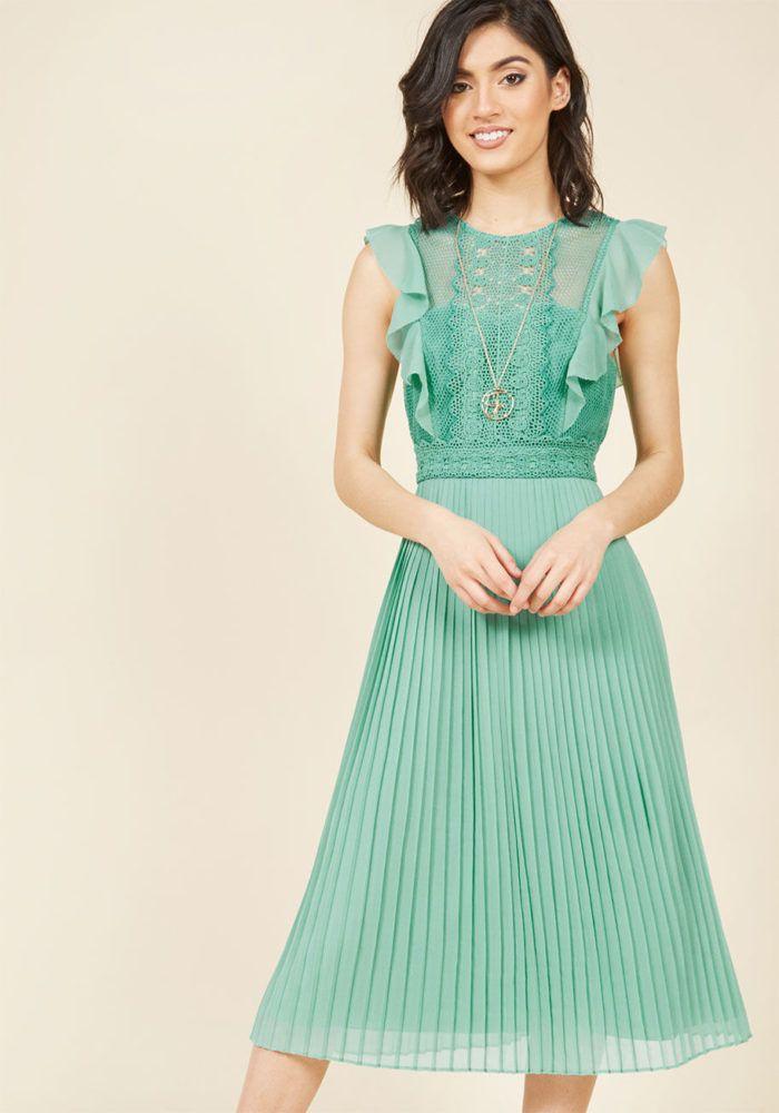 Green Wedding Guest Dress under $150