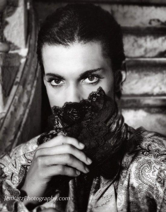 Classic Prince | 1986 Parade + UTCM - Christopher Tracy on movie set photo by photographer Jeff Katz