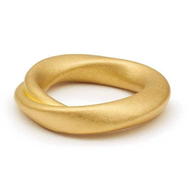 ORRO Contemporary Jewellery Glasgow - Niessing - Gold Tordamo Wedding Ring - 22ct gold - the symbol of your love - Available in 4.5 and 6mm widths