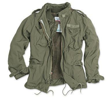 Surplus куртка м65 с мехом
