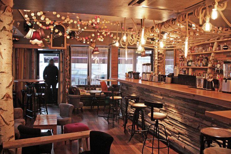 Réaménagement du bar Le Gustave à Nancy