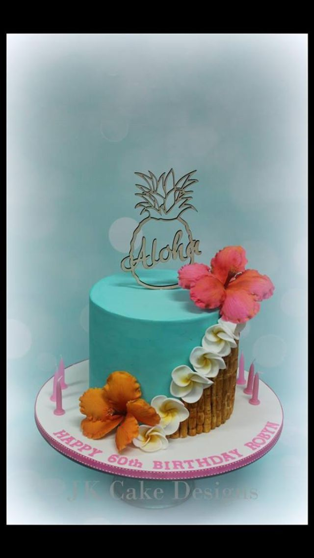 588 best Tropical Cakes images on Pinterest Amazing cakes