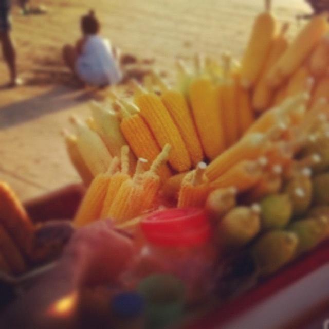 Fresh corn on #Jimbaran Bay beach, #Bali. #holiday #travel #instagood #iphonesia #photooftheday #instamood #instagramhub #picoftheday #instadaily #bestoftheday #sky #igdaily #beautiful #summer #nature #instagramers #10likes #20likes #instalove