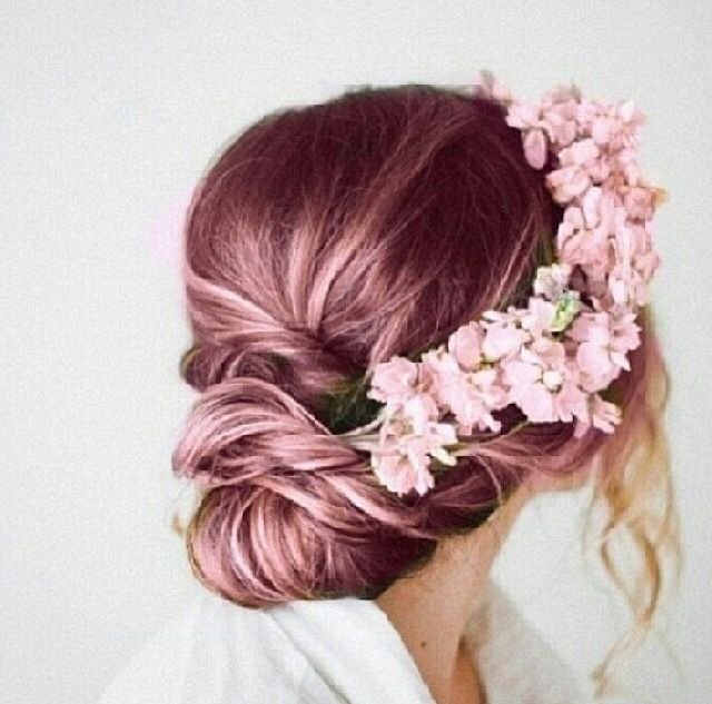 ashy pink hair color - Google Search