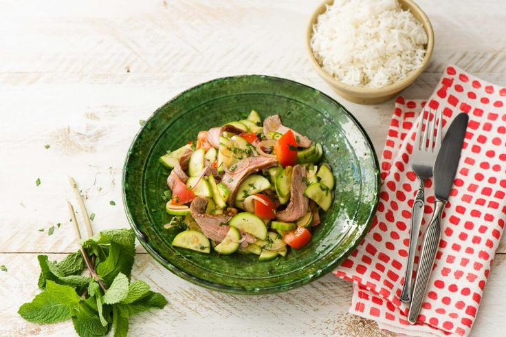 Family Thai Beef Salad