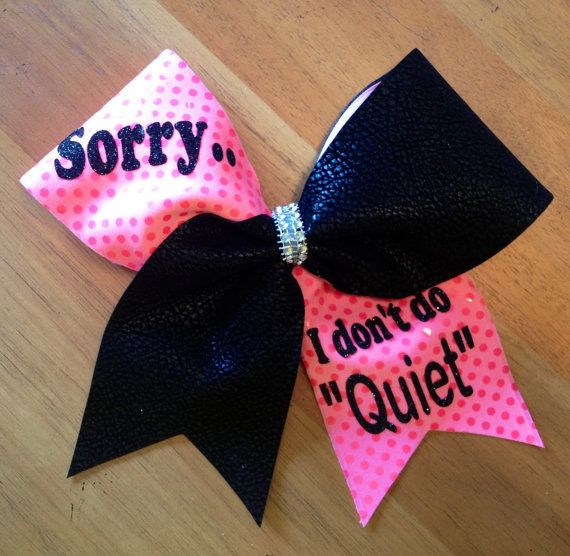 Cheerbow cheer bow cheerleader Bella bows by Bellabows76