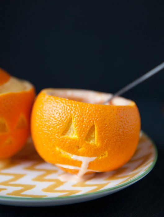 Halloween Orange Sherbet Pumpkins: So cute and so easy! Get your ...