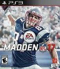 BRAND NEW & SEALED MADDEN NFL 17 (PlayStation 3  PS3 2016) FREE SHIPPING  Price 45.0 USD 25 Bids. End Time: 2016-12-05 21:33:13 PDT