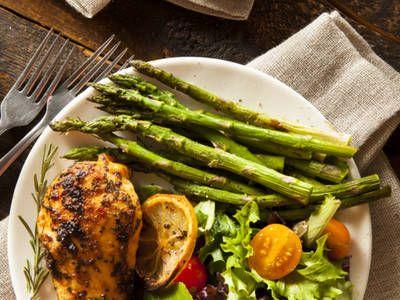 Roasted Herb-Encrusted Chicken