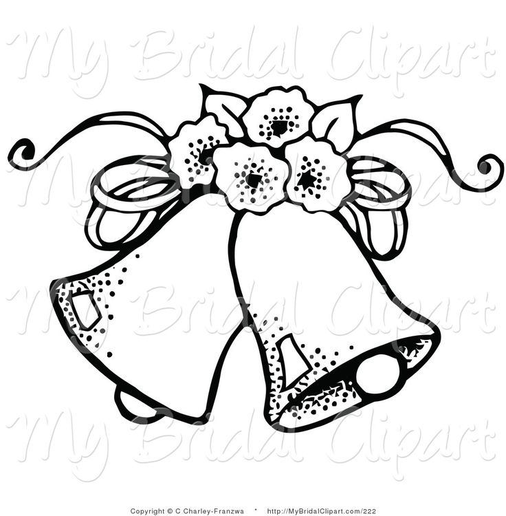 Wedding bells coloring pages ~ 178 best Coloring: Bells images on Pinterest | Coloring ...