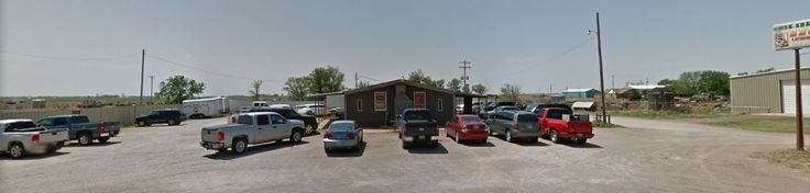 View of Smok-Shak restaurant from the north in Ingersoll, OK.