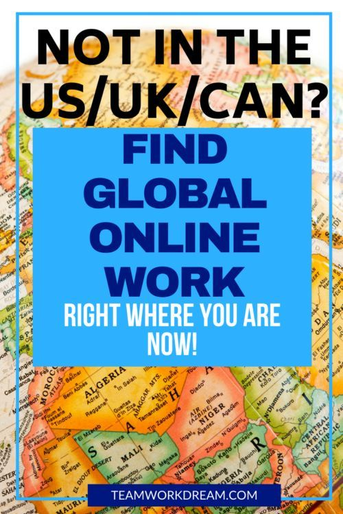 Where Can I Easily Find an International Online Job?
