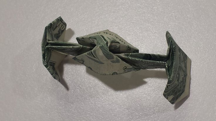 Star Wars TIE Fighter - How to fold a Dollar Origami TIE Fighter