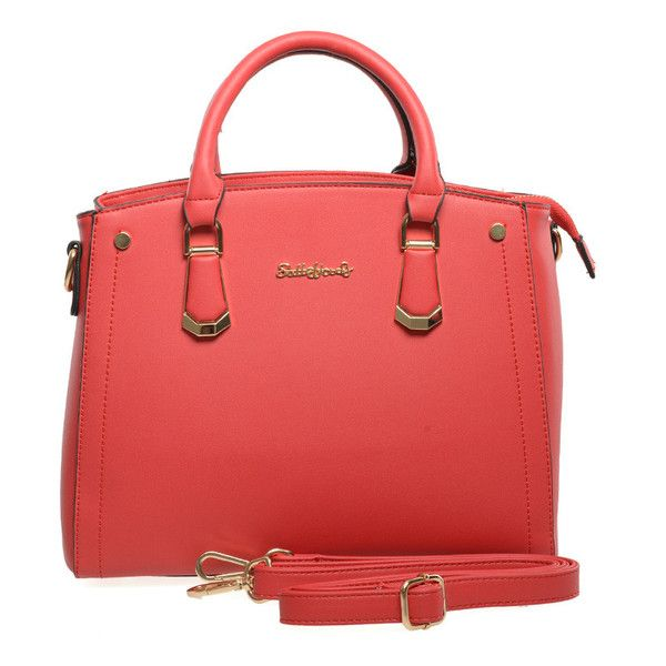 Red  -  New Top Quality Women Handbag Shoulder Bag £23.99