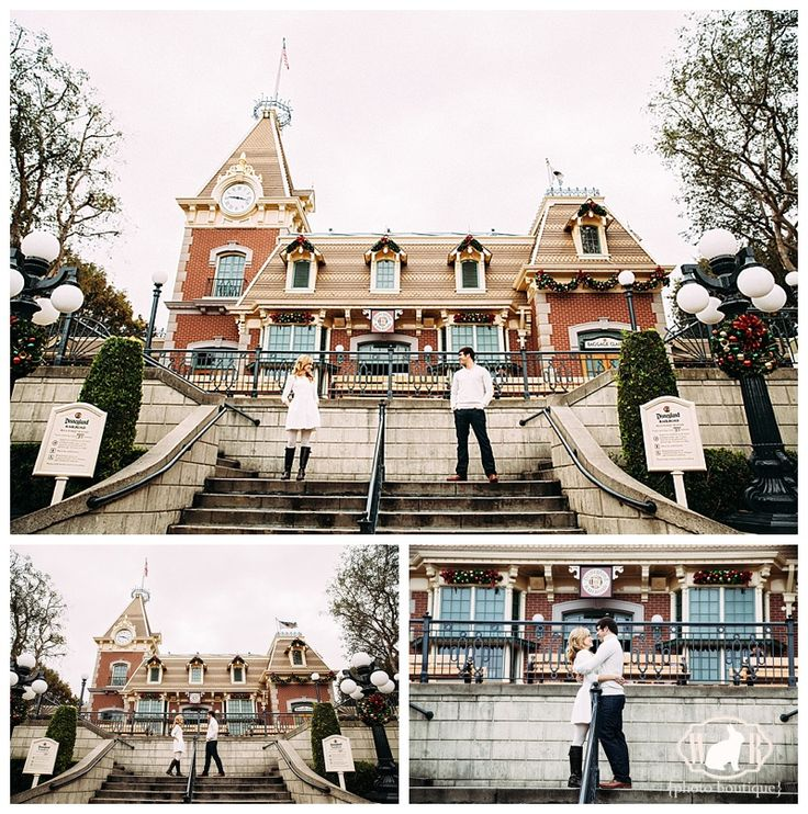 Travis & Katie's Disneyland Anniversary Photos