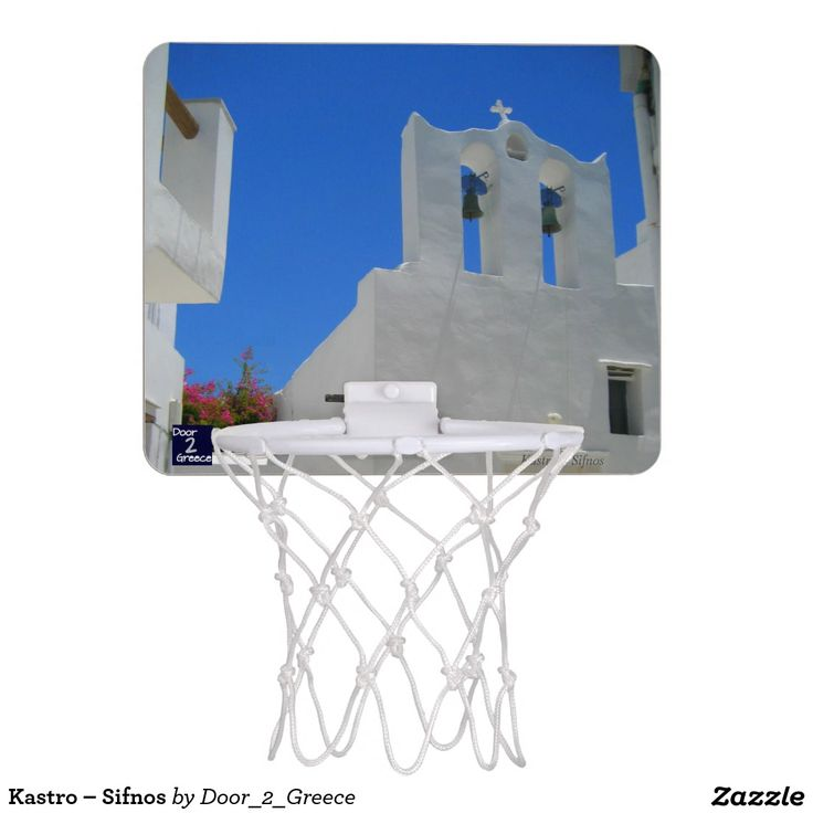 Kastro – Sifnos Mini Basketball Hoop