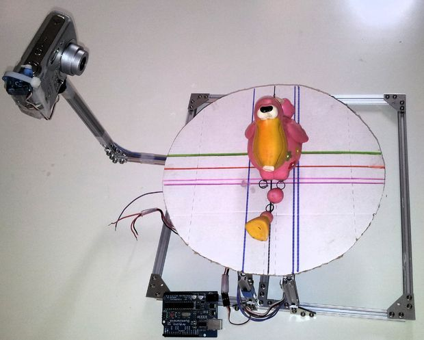 Picture of 123D Scanner - Home made 3D Scanner