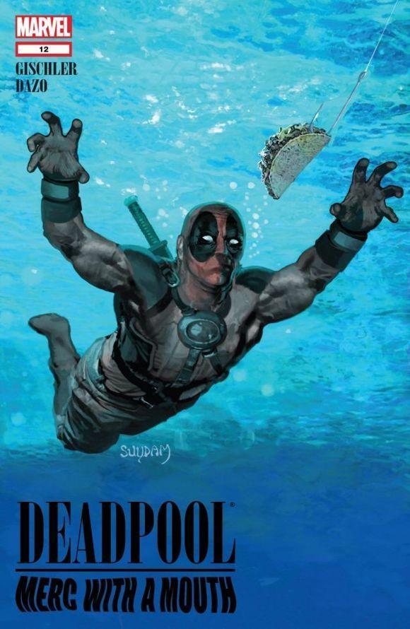27 Craziest Deadpool Comic Book Covers - IGN