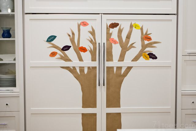 71 Toes: Thankful tree spreading roots