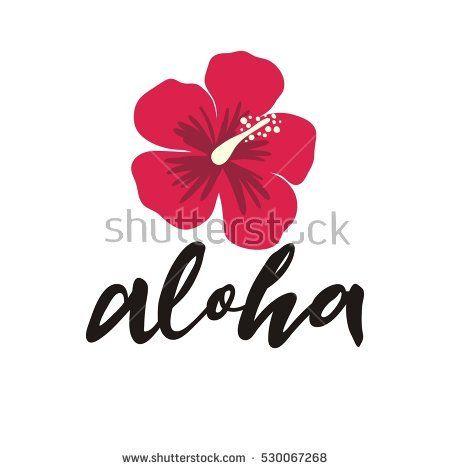 Aloha Vector Lettering