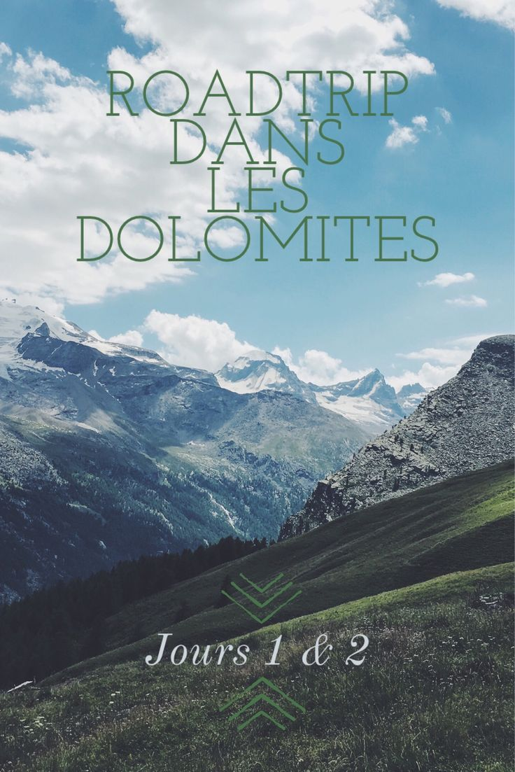 Départ pour les Dolomites, premier arrêt dans le parc naturel du Gran Paradisio
