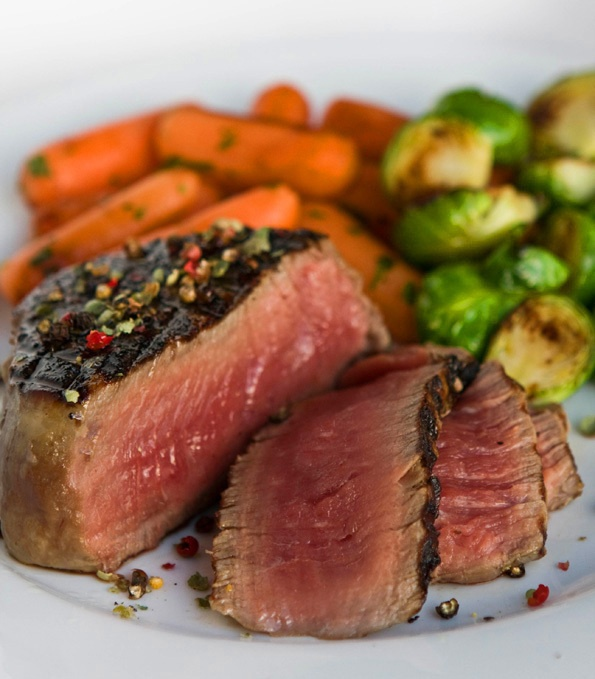 Grilled Steak with Garlic-Herb Butter by Steamy KitchenTasty Recipe, Cheap Choice, Beef, Steak Recipe, Grilled Steak, Turn Cheap, Cooking, Steakthi Recipe, Food Recipe