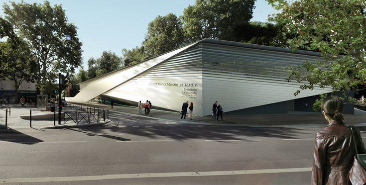 'albert kahn museum and gardens' by kengo kuma, hauts-de-seine, france