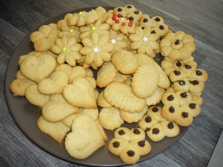 Recette pour presse à biscuits.