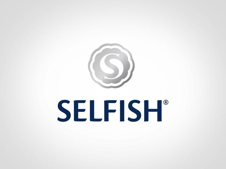 Selfish - logo design. A Selfish termékcsalád logója