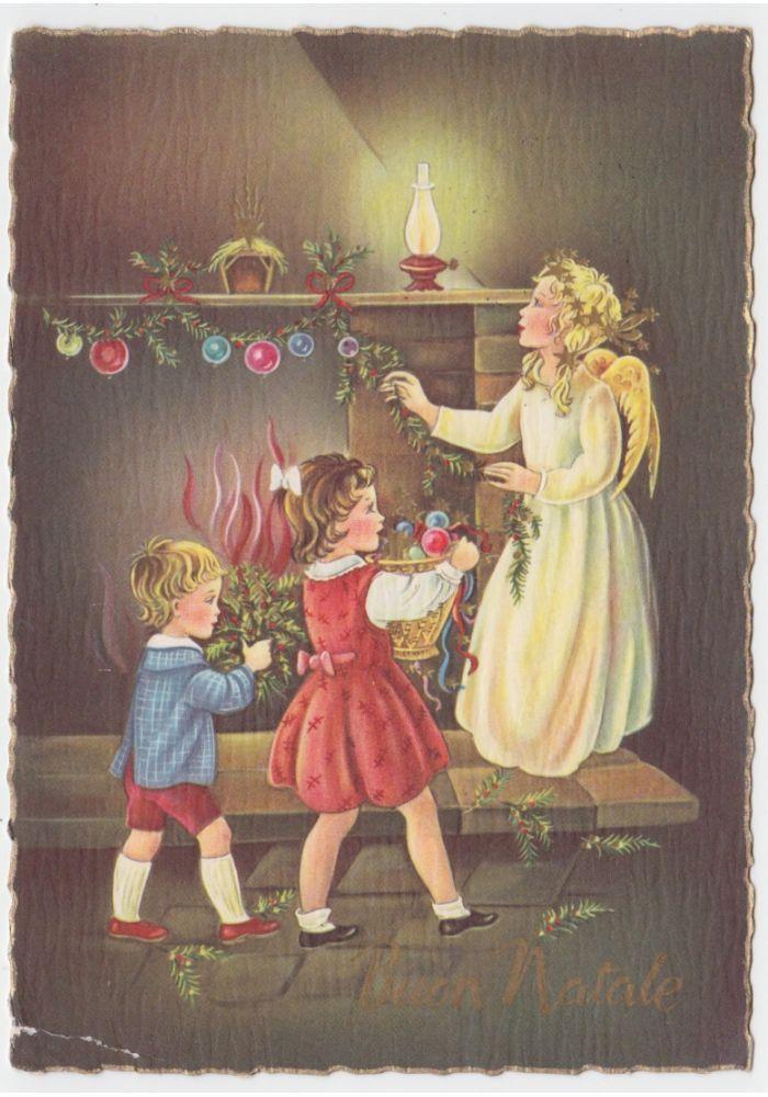 Auguri di natale, natale italiano, auguri natale, immagini di natale, palline di. Pin Su Natale Epifania Vintage