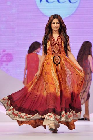 Shamaeel Ansari Collection at Veet Beauty Celebration 2011
