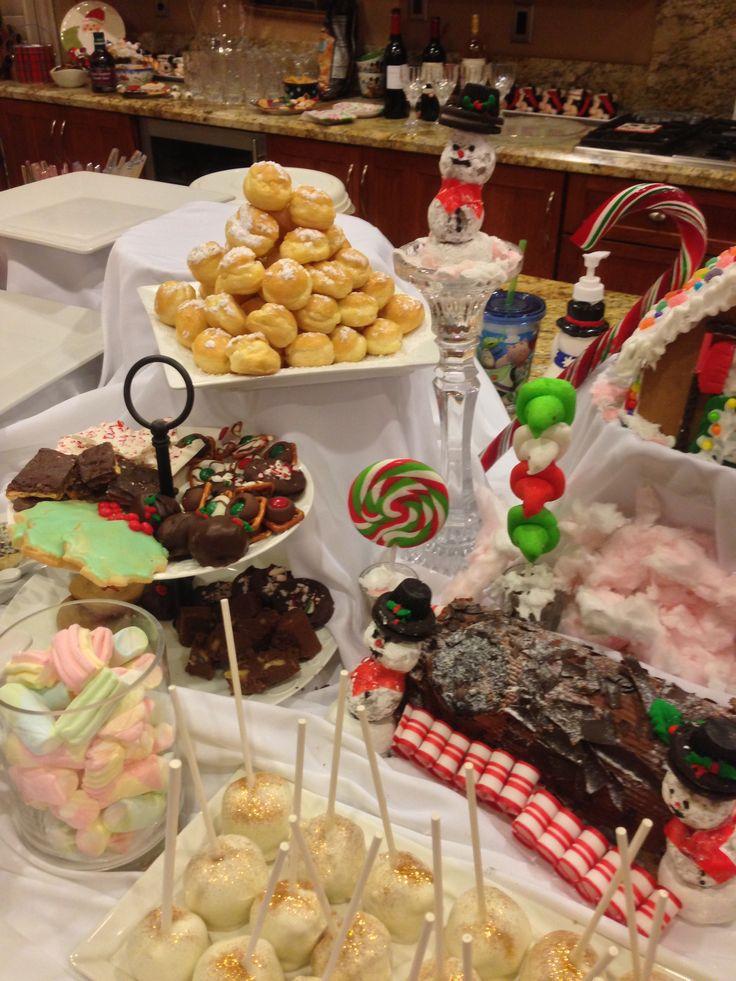 Christmas treat buffet