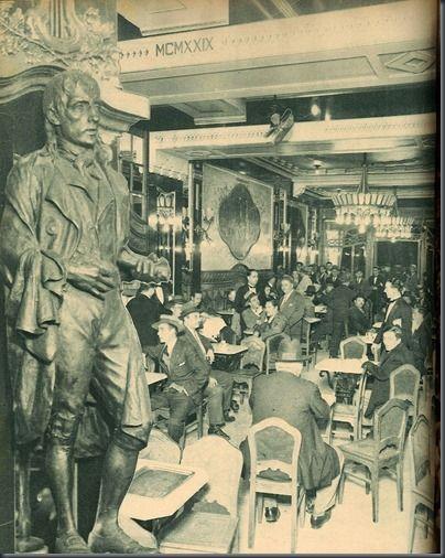 Inauguração Café Nicola, Rossio - 2 Outubro 1929