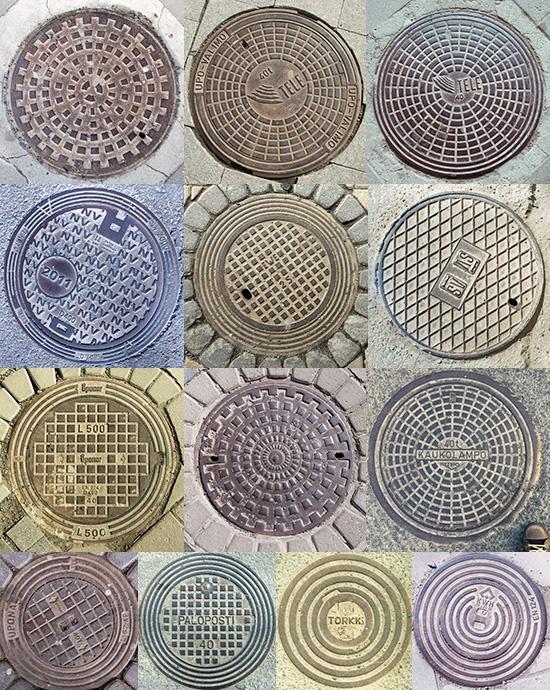 Round Covers, Turku, Finland