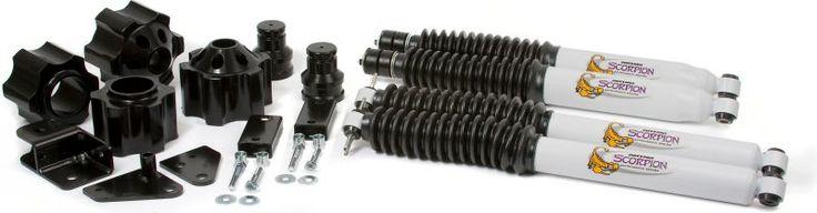 "Daystar 3"" Lift Kit in Black with Scorpion Shocks for 07-12 Jeep® Wrangler & Wrangler Unlimited JK"