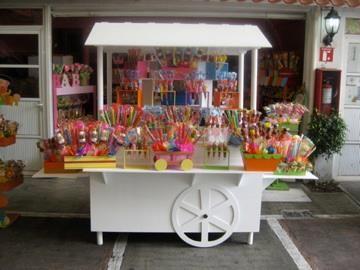Excelente idea para poner los dulces o postres en una fiesta