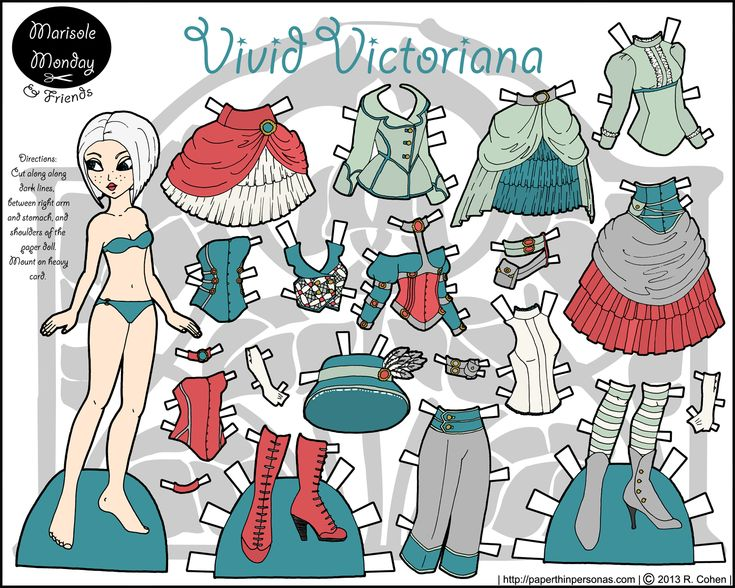 vivid-victoriana-marisole-monday-steampunk-paper-doll.png (1500×1200)