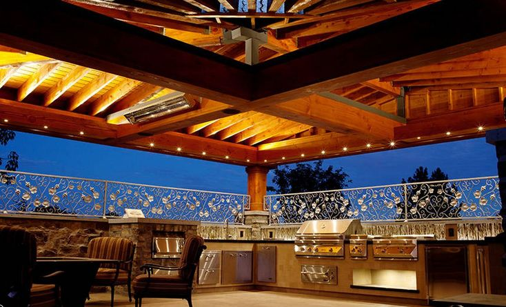 Outdoor Bar B Que Kitchens